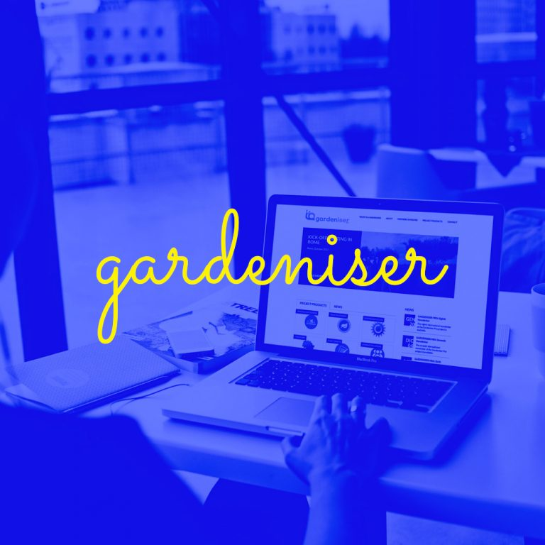 "Gardeniser pro – professional development of a new figure: the ""garden-organiser"""